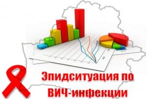 Эпідсітуацыя па ВІЧ-інфекцыі